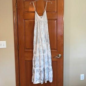 Mossimo metallic maxi dress
