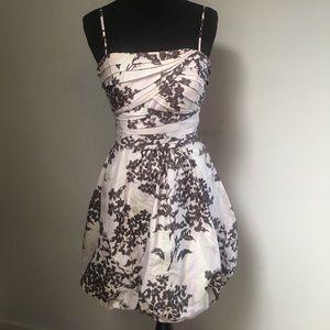 BCBG Pastel Floral Bubble Hem Dress, 4