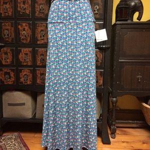 Lularoe silky soft maxi skirt in fabulous colors!