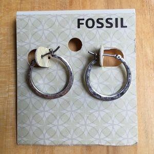 Fossil Hoop Earrings