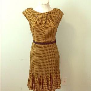 Eva Franco Fall Color Dress