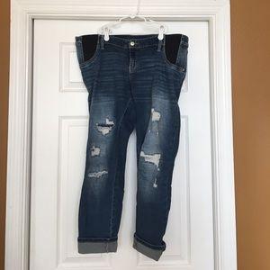 Denim - Liz Lange Maternity Jeans Size Large
