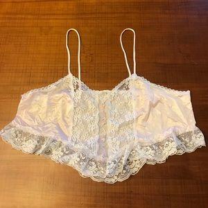 Adorable VINTAGE lingerie top