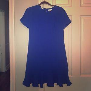 Shoshanna Ruffle Hem Dress