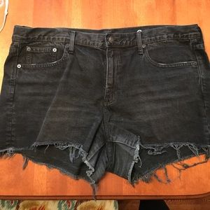 Gap black Jean shorts