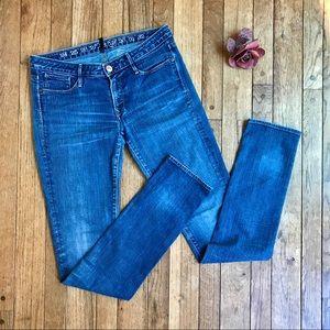 Earnest Sewn medium wash skinny jeans