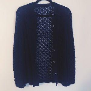 Blue Lace Vintage Cardigan