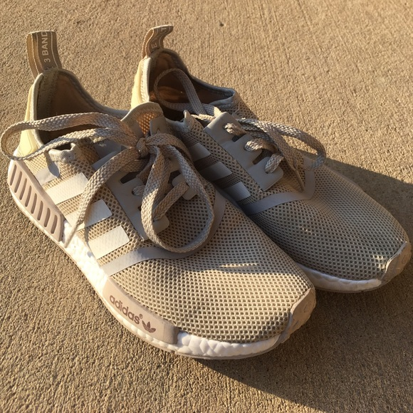 43fc54887582c adidas Shoes - Beige Adidas NMD - ALSO SELLING ON DEPOP nyahmarie
