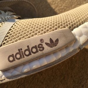 647dc50b5 adidas Shoes - Beige Adidas NMD - ALSO SELLING ON DEPOP nyahmarie