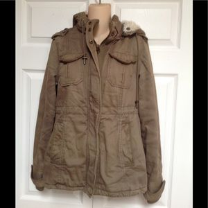 Aeropostale army sage green jacket