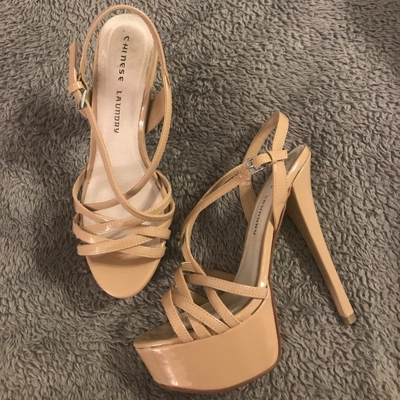 Chinese Laundry Tippy Top Pageant Heels