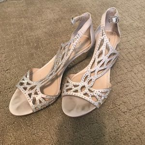 Vince Camuto short wedge (great wedding shoes!)