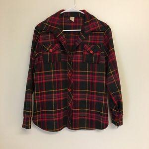 Vintage 70's Plaid Fall Jacket
