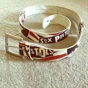 Sex Pistols God Save The Queen Belt by VANS size M