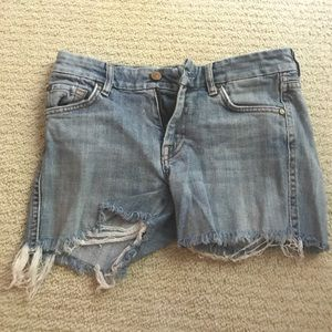 Seven for all Mankind Cutoff jean shorts