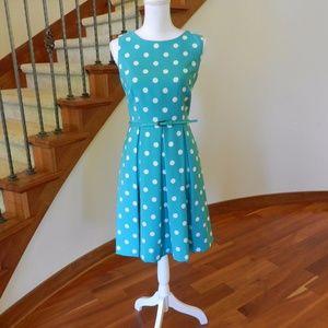 Hepburn dotted dress