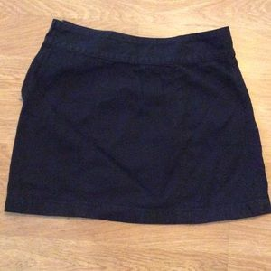 Free People black mini skirt
