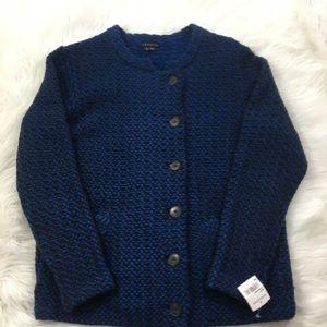 Theory Wool Knit Jacket