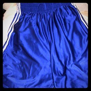 🏀⚽️🎾Men's Adidas Blue Athletic Shorts‼️‼️‼️