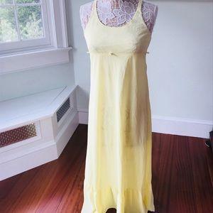 Sunny vintage nylon nightgown