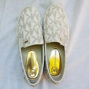 Michael Kors Keaton Logo Slip On Sneaker