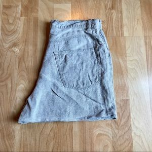 Vintage Gap high waisted linen shorts