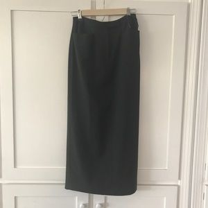 Wool Ralph Lauren Midi Skirt