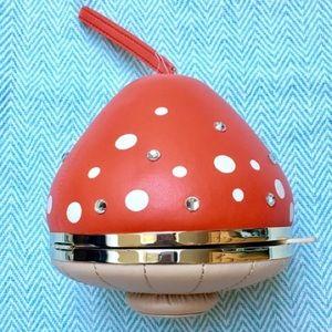 {Kate Spade} Mushroom Shaped Novelty Wristlet