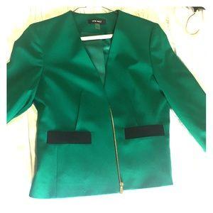 Green Nine West Blazer