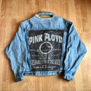 Vintage Pink Floyd jean jacket