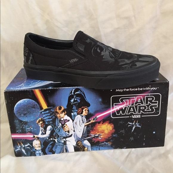 d273bb0c52 Vans x Star Wars Dark Side Darth Vader slip-on. M 59e3d6a299086a928708604b