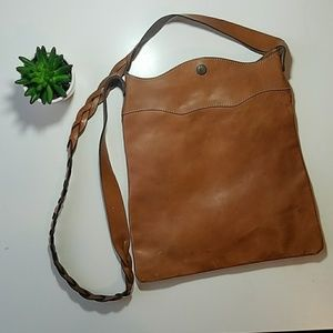 Gap leather vintage bag