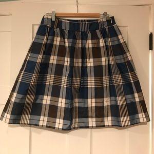 J.Crew silk skirt