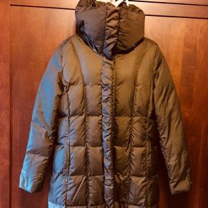 Cole Haan full length down jacket.