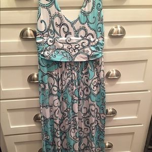 Lilly Pulitzer Sloane maxi ALTERED