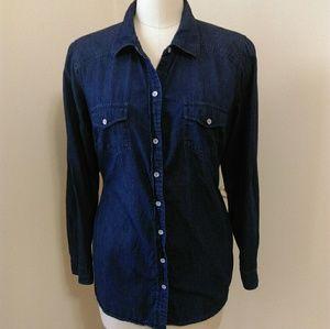 Torrid Chambray Denim Shirt