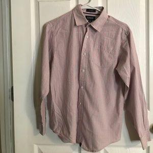 Boys long sleeve Izod shirt