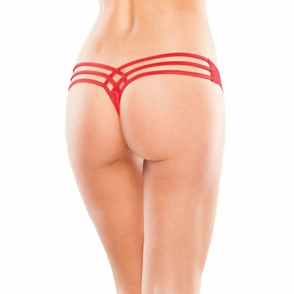 29% off other - plus size red thong panty from shani's closet on