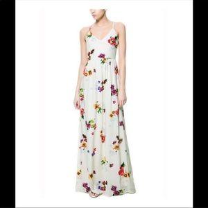 🌸🌺🌼🌷ZARA Floral Max dress 🌸🌺🌼🌷