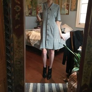 Vintage Chaus gingham dress