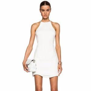 3.1 PHILLIP LIM White Quilted Scuba Freeform Dress