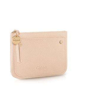 Chloe leather pouch.