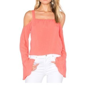Sanctuary Melody bare shoulder top in gloss