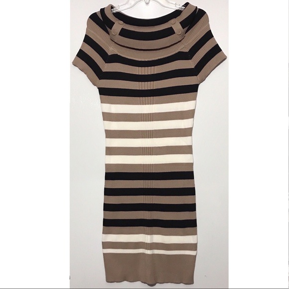 13f236dbd4e NWT Pink Rose Cowl Neck Sweater Dress