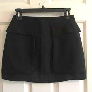 Lush Black Mini Skirt