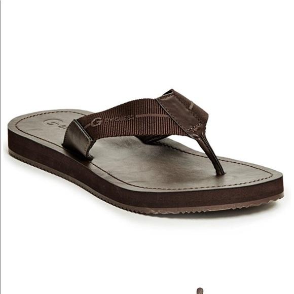 6f53dec89a48 Guess Men s Flip Flop Slipper Sandals