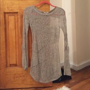 helmut lang italian cashmere sweater dress