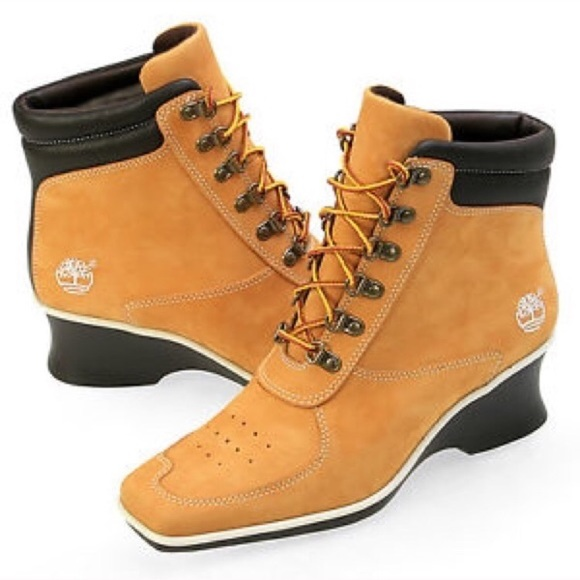 timberland wedge