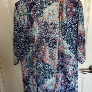 garage colorful kimono