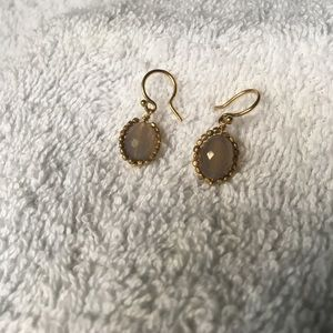 Authentic NWOT Chan Luu Opal/YG Drop Earrings